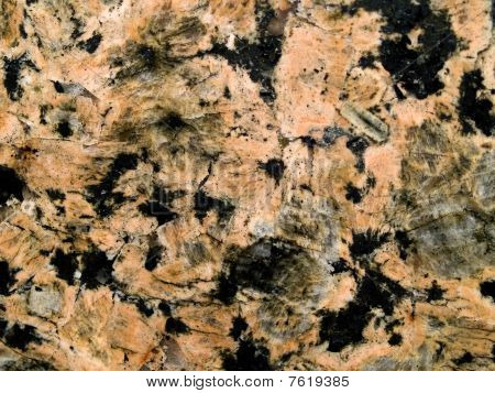 Black And Salmon Colored Marble Surface Texture For Background
