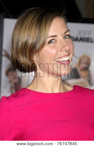 LOS ANGELES - NOV 3:  Erin Allin O'Reilly at the Dumb and Dumber To Premiere at the Village Theater on November 3, 2014 in Los Angeles, CA