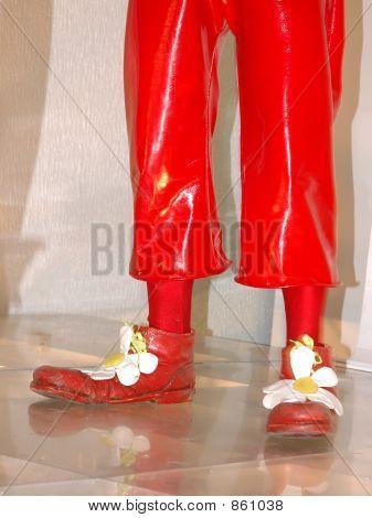 Clown`s boots