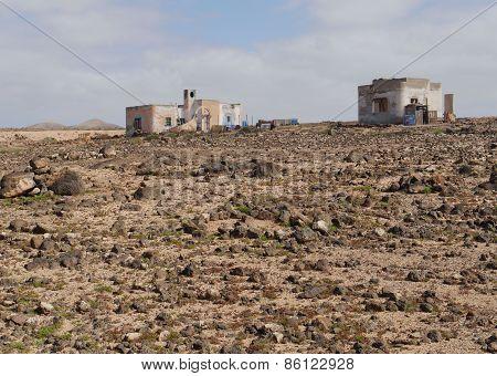 Punta de Paso Chico on Fuerteventura