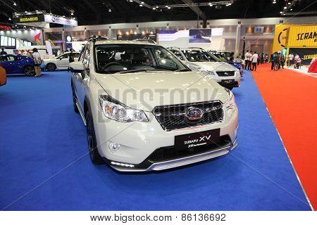 BANGKOK - MARCH 25: Subaru XV car on display at The 36 th Bangkok International Motor Show on March