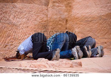 Moslims Praying