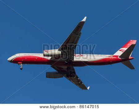 Aircraft Tupolev Tu-204
