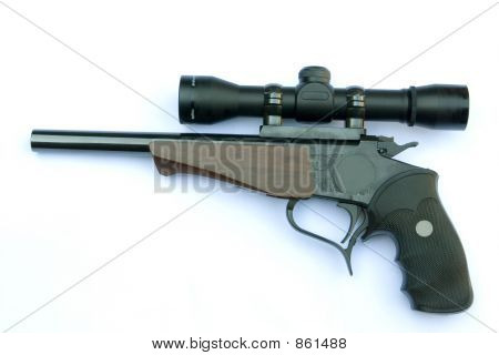 Pistol and Scope