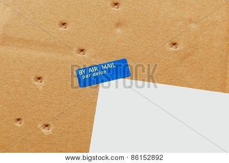 Air Mail, Par Avion Envelope Parcel Damaged