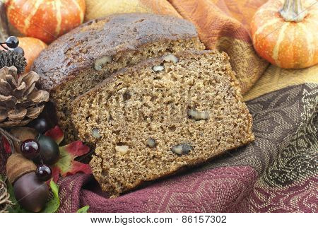 Autumn Banana Nut Bread