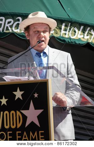 LOS ANGELES - MAR 24:  John C Reilly at the Will Ferrell Hollywood Walk of Fame Star Ceremony at the Hollywood Boulevard on March 24, 2015 in Los Angeles, CA