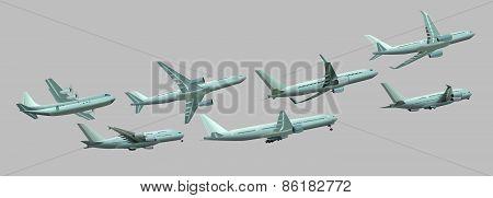 Different planes