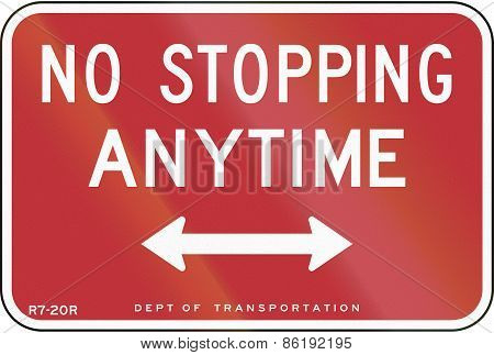 No Stopping Anytime