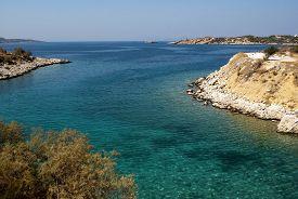 Paradise Beach Near The Athens.