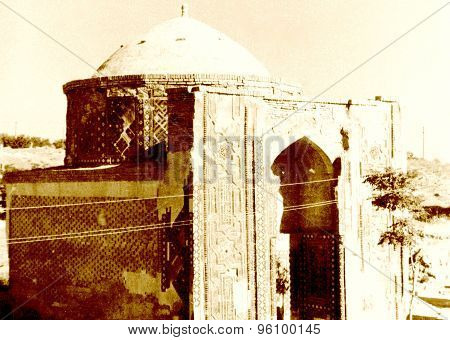 Samarkand Shakhi-zindah Mausoleum 1962