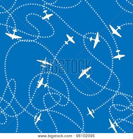 Planes. Raster version