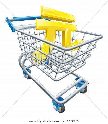 Yuan Currency Shopping Cart