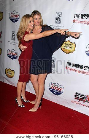 LOS ANGELES - JUL 14:  Christina Moore, Missi Pyle at the