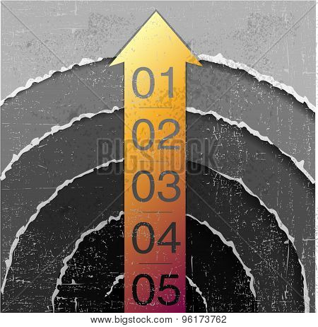 abstract number line background