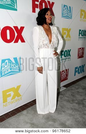 SAN DIEGO, CA - JULY 10: Meagan Good arrives at the 20th Century Fox/FX Comic Con party at the Andez hotel on July 10, 2015 in San Diego, CA.