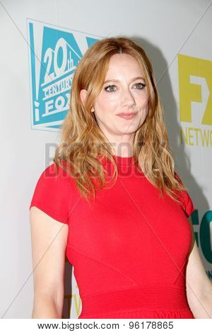 SAN DIEGO, CA - JULY 10: Judy Greer arrives at the 20th Century Fox/FX Comic Con party at the Andez hotel on July 10, 2015 in San Diego, CA.
