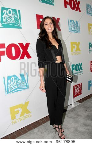 SAN DIEGO, CA - JULY 10: Janet Montgomery arrives at the 20th Century Fox/FX Comic Con party at the Andez hotel on July 10, 2015 in San Diego, CA.