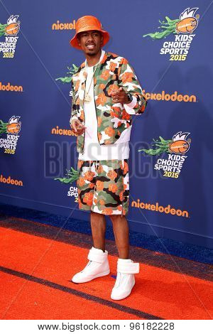 LOS ANGELES - JUL 16:  Nick Cannon at the 2015 Kids' Choice Sports at the UCLA's Pauley Pavilion on July 16, 2015 in Westwood, CA