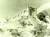 Old photo: Ulugh Beg Observatory in Samarqand in 1962 Uzbekistan poster
