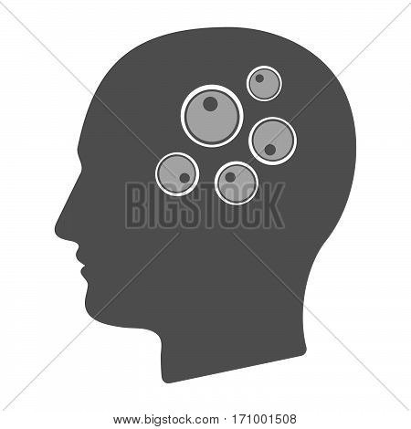 Isolated Male Head With Oocytes