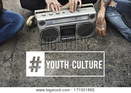 Young Attitude Youth Culture Power