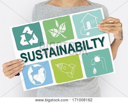 Sustainability advertising environment global warning