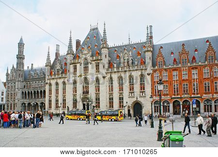 The Provincial Palace In Bruges