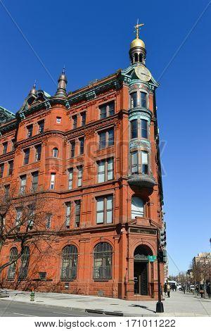 WASHINGTON D.C., USA - MARCH 14, 2014: The historic SunTrust building in Washington DC