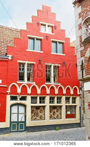 The Flemish Revival Style House