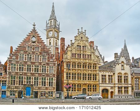 The Mansions And Towers Of Old Ghent