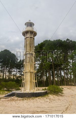 Lighthouse In Lagoa Do Patos Lake