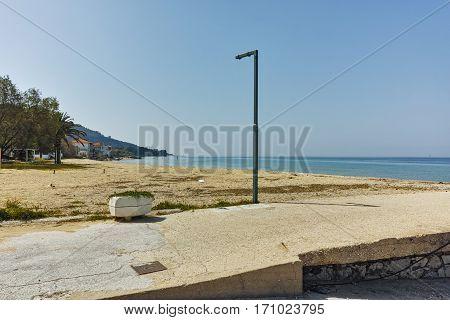 Port of Skala Sotiros, Thassos island, East Macedonia and Thrace, Greece