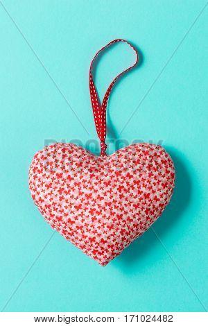 Overhead Of Heart-shaped Stuffed Decoration Valentine's Love