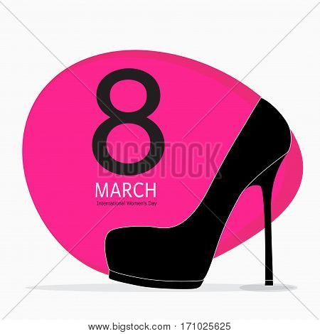 Women s Day Greeting Card 8 March Vector Illustration EPS10