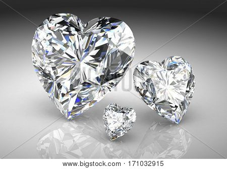 Diamond Jewel (high Resolution 3D Image)