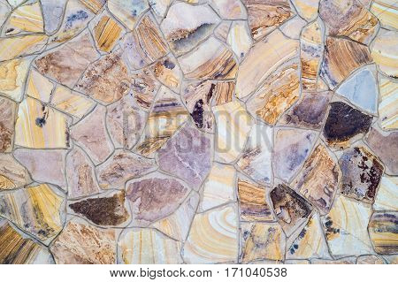 Stone wall made of stone for a background