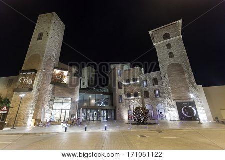 DUBAI UAE - DEC 7 2016: The new Outlet Village shopping mall in Dubai. United Arab Emirates Middle East
