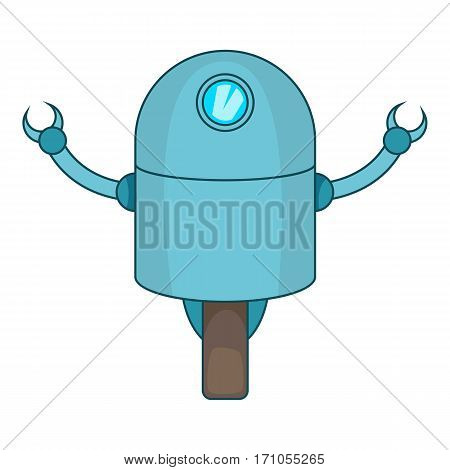 Telemechanical device icon. Cartoon illustration of telemechanical device vector icon for web