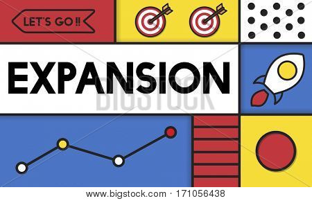 Expansion Growth Business Development Vision Word