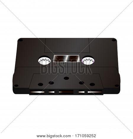 Isolated Retro Cassette