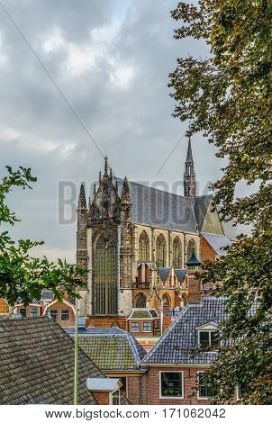 Hooglandse Kerk is a Gothic church in Leiden dating from the fifteenth century. The brick church is dedicated to St. Pancras. Netherlands