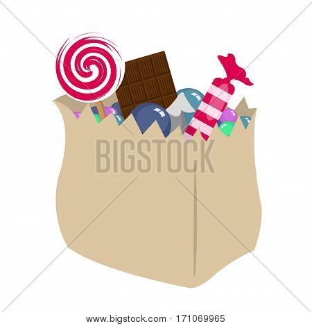 Candy - Stock Vector Food, Candy, Lollipop, Holiday, Sweets