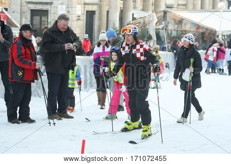 Kids Skiing With Ivica Kostelic