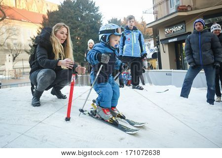 Son Of Ivica Kostelic Skiing