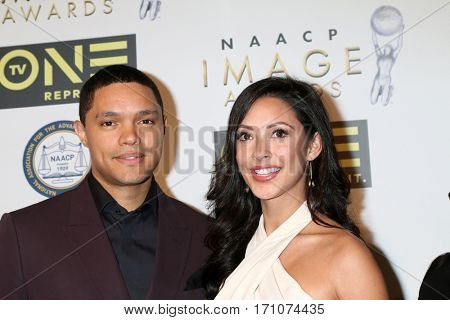 LOS ANGELES - FEB 10:  Trevor Noah, Guest at the Non-Televisied 48th NAACP Image Awards at Pasadena Conference Center on February 10, 2017 in Pasadena, CA