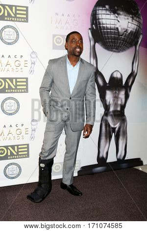 LOS ANGELES - FEB 10:  Sterling K Brown at the Non-Televisied 48th NAACP Image Awards at Pasadena Conference Center on February 10, 2017 in Pasadena, CA