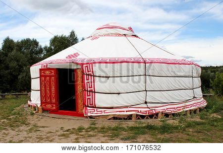 Tent as an ancient house of people