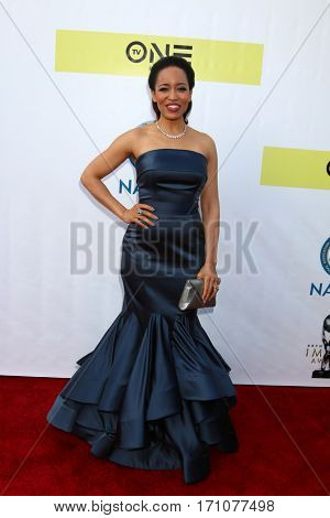 LOS ANGELES - FEB 11:  Dawn-Lynn Gardner at the 48th NAACP Image Awards Arrivals at Pasadena Conference Center on February 11, 2017 in Pasadena, CA