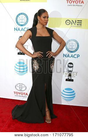 LOS ANGELES - FEB 11:  Laverne Cox at the 48th NAACP Image Awards Arrivals at Pasadena Conference Center on February 11, 2017 in Pasadena, CA